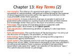 chapter 13 key terms 2