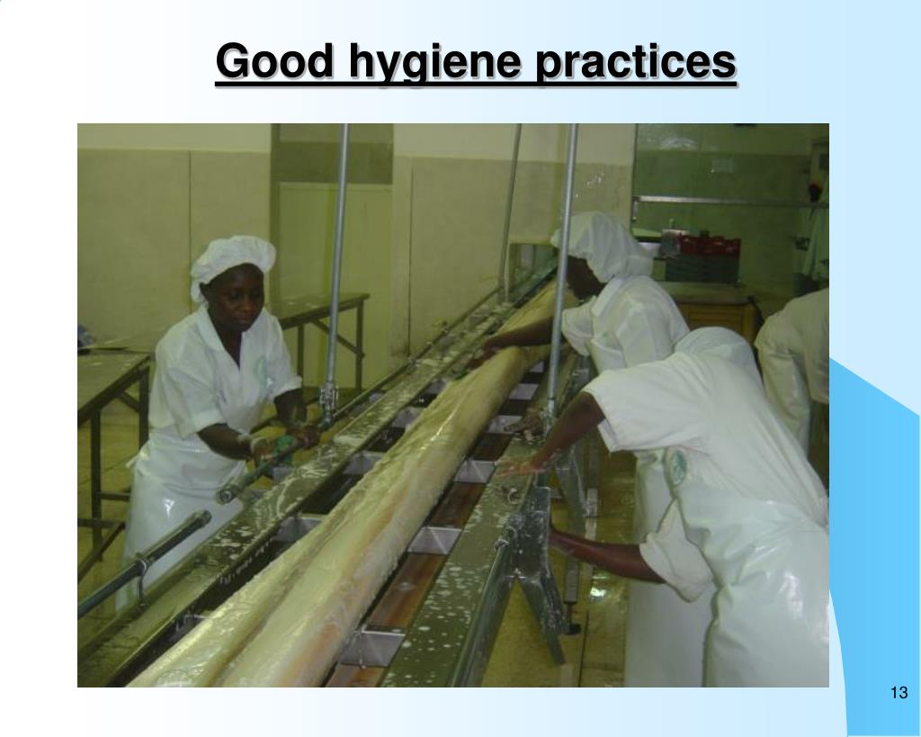 Good hygiene practices
