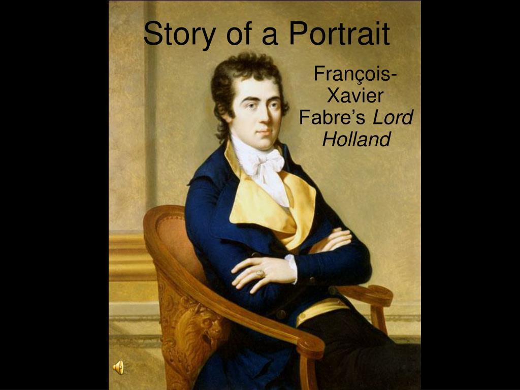 story of a portrait l.
