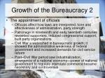growth of the bureaucracy 2