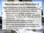 recruitment and retention 2