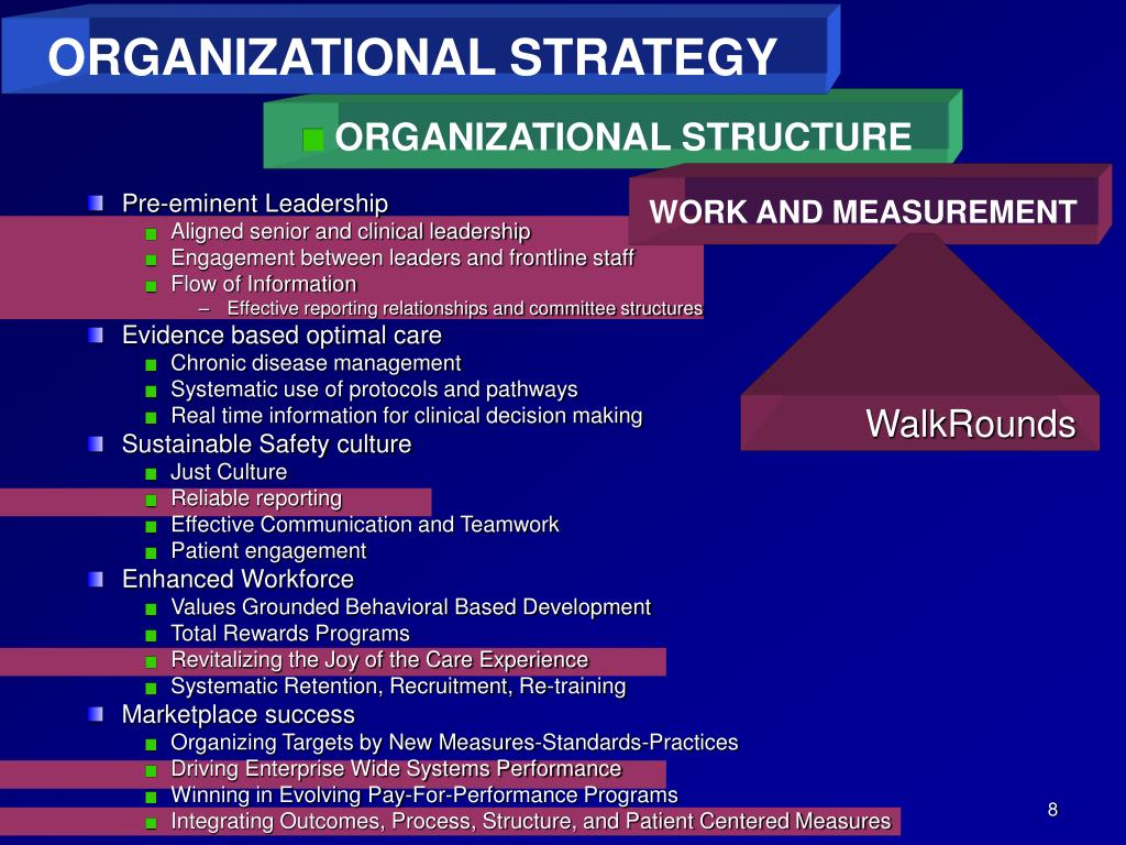 organizational strategy structure