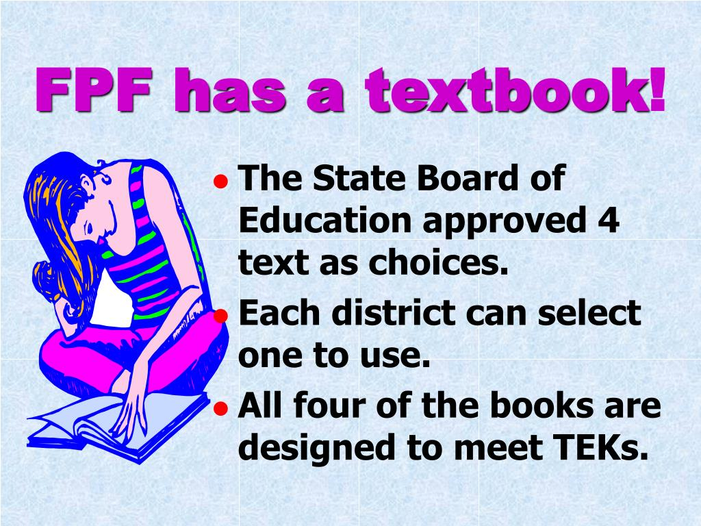 FPF has a textbook