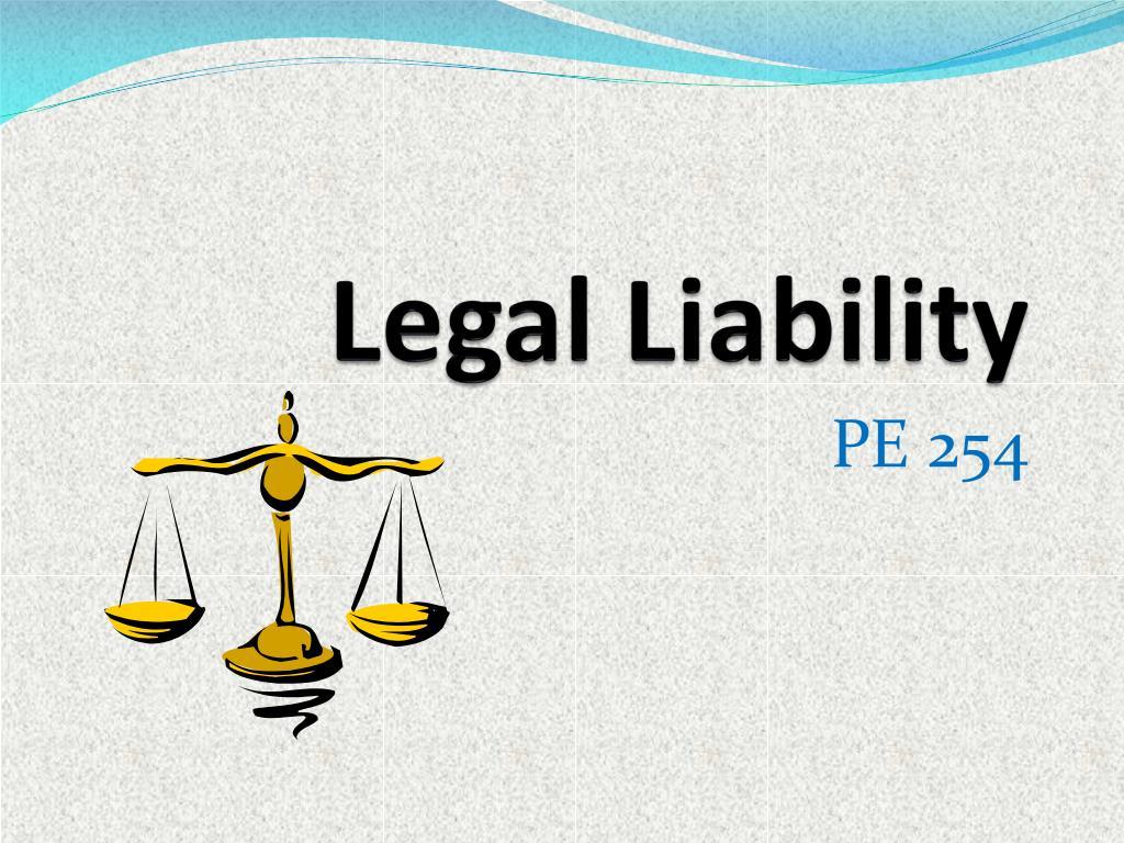 legal liability l.
