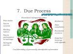 7 due process