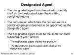 designated agent40