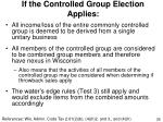 if the controlled group election applies