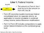 line 1 federal income