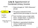 line 8 apportionment of combined unitary income