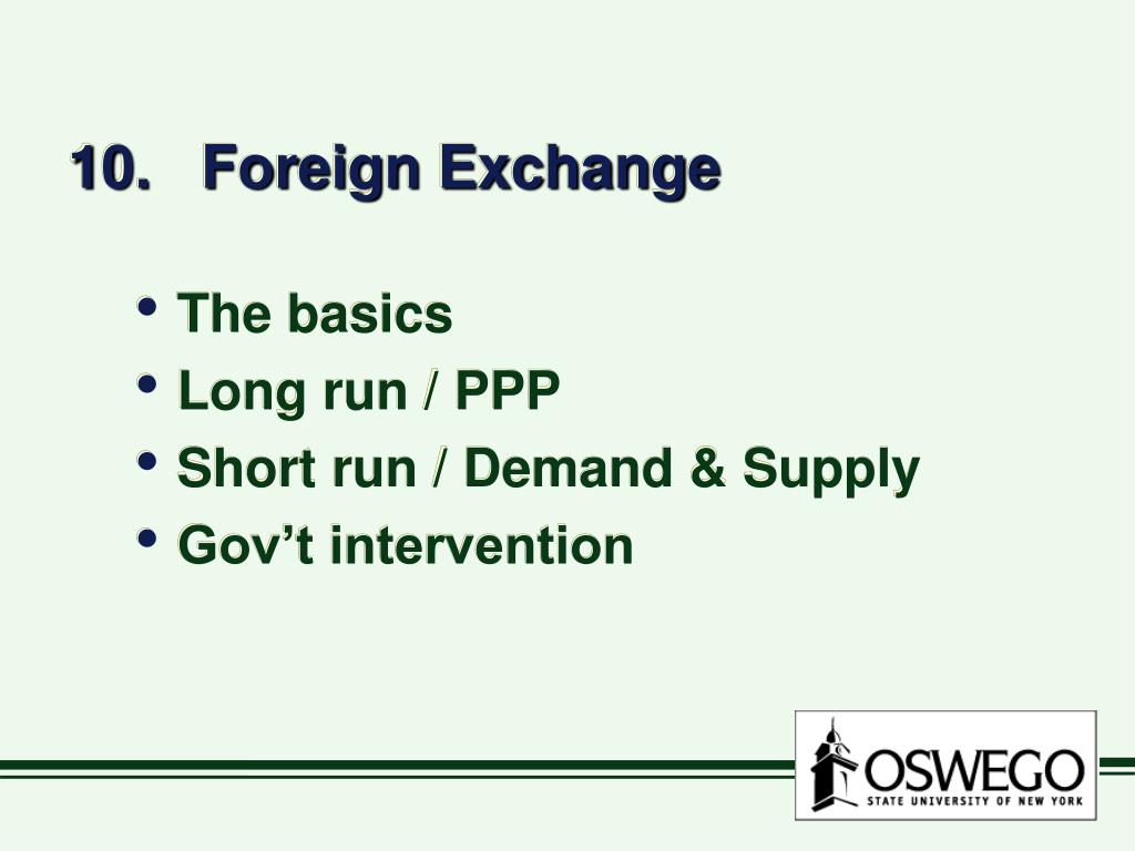 10 foreign exchange l.
