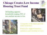 chicago creates low income housing trust fund