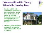 columbus franklin county affordable housing trust