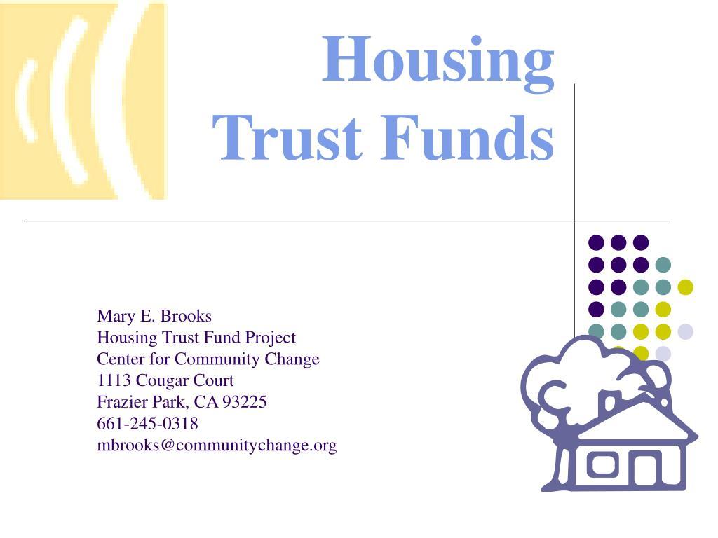 housing trust funds l.