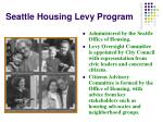seattle housing levy program