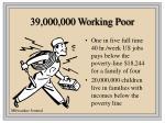 39 000 000 working poor