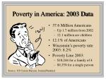 poverty in america 2003 data
