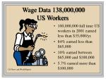 wage data 138 000 000 us workers