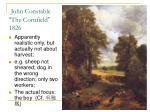 john constable the cornfield 1826