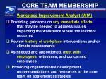 core team membership6
