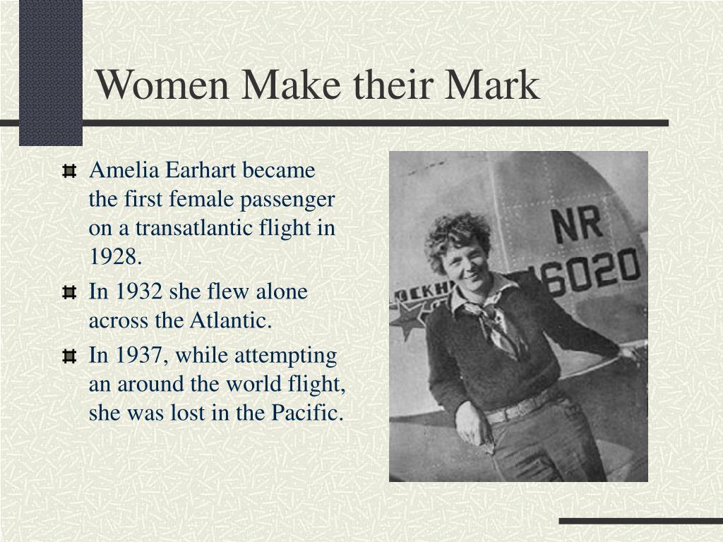Women Make their Mark