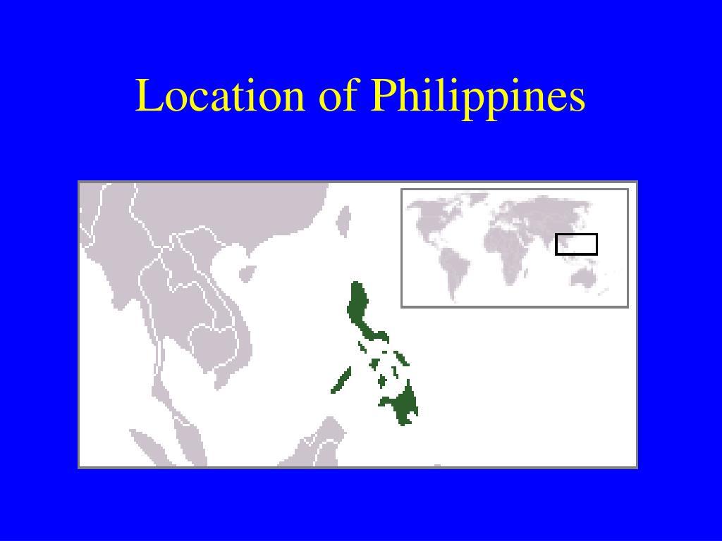 location of philippines l.