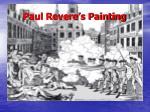 paul revere s painting