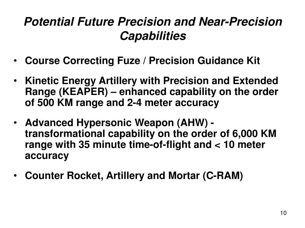 Course Correcting Fuze / Precision Guidance Kit