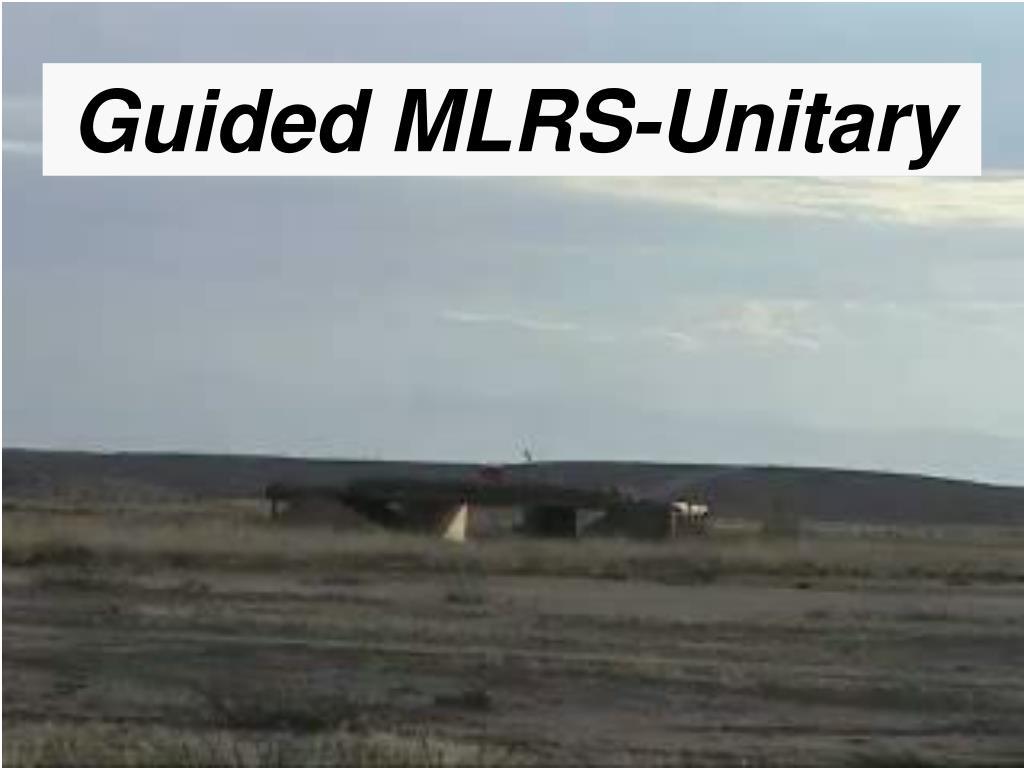 Guided MLRS-Unitary