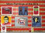 more paintings of the 60 s