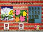 paintings of the 60 s