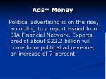 ads money