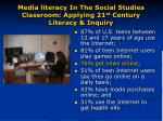 media literacy in the social studies classroom applying 21 st century literacy inquiry6