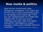 new media politics
