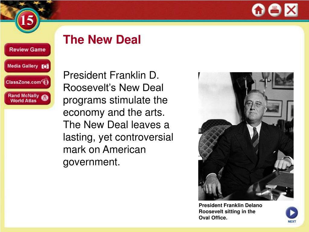 roosevelt s new deal project and the Next new deal: the blog of the roosevelt fdr and the new deal response to an environmental catastrophe fdr initiated the prairie states forestry project to.