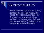majority plurality9