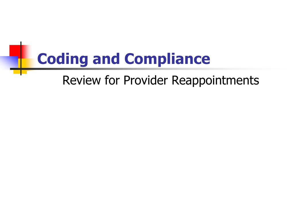 review for provider reappointments l.
