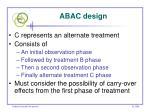 abac design