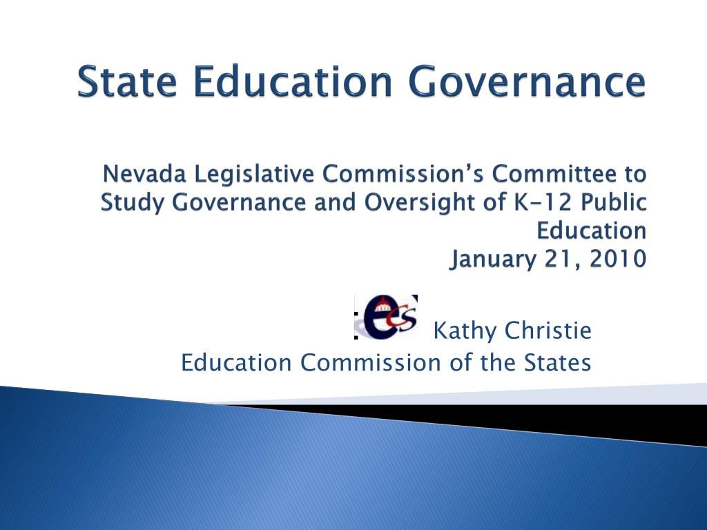 kathy christie education commission of the states l.