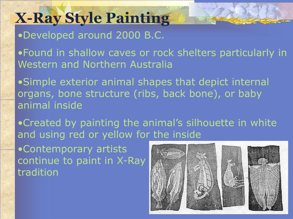X-Ray Style Painting