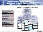 nestl leadership framework progress development guide