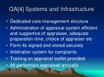 qa 4 systems and infrastructure