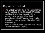 cognitive overload