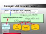 example art museum domain