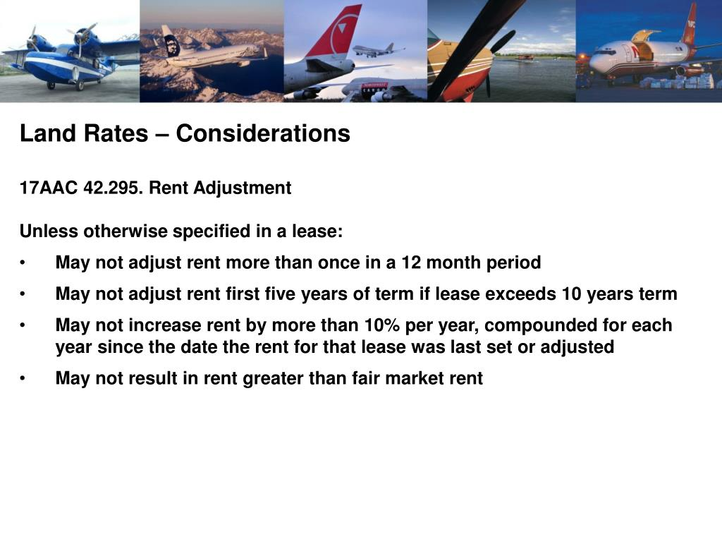 Land Rates – Considerations