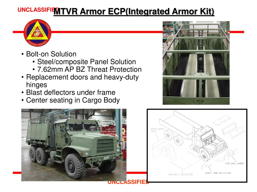 MTVR Armor ECP(Integrated Armor Kit)