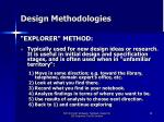 design methodologies28