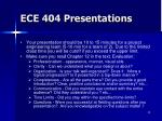 ece 404 presentations