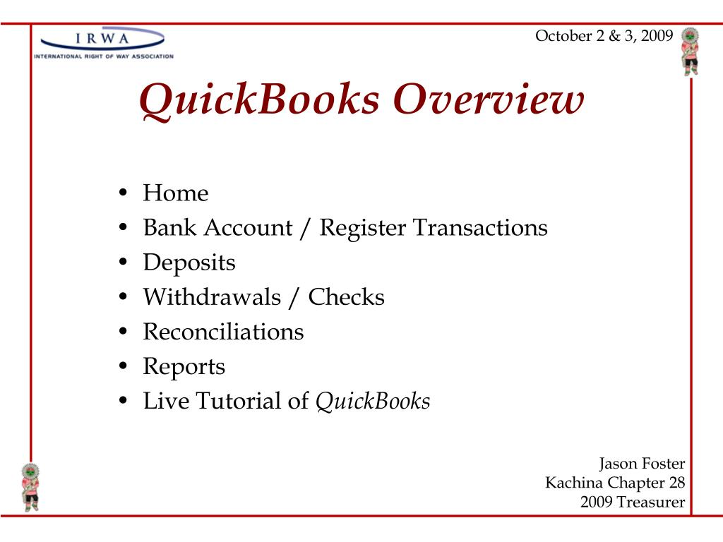 quickbooks overview l.