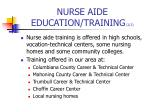 nurse aide education training 2 2