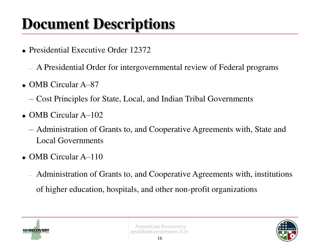Document Descriptions